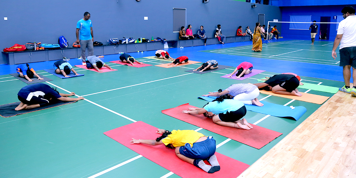 sports coaching centres in Vijayawada